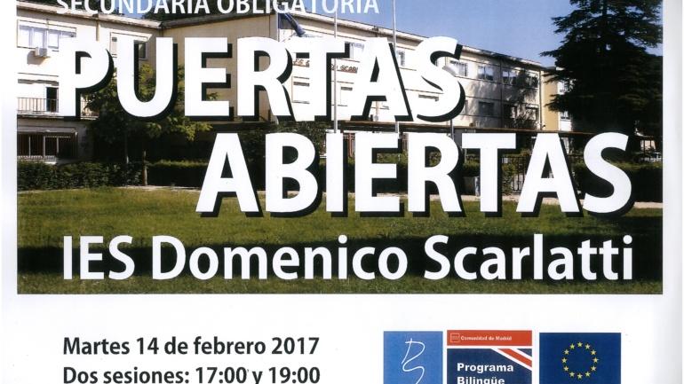 JORNADAS DE PUERTAS ABIERTAS: IES DOMENICO SCARLATTI
