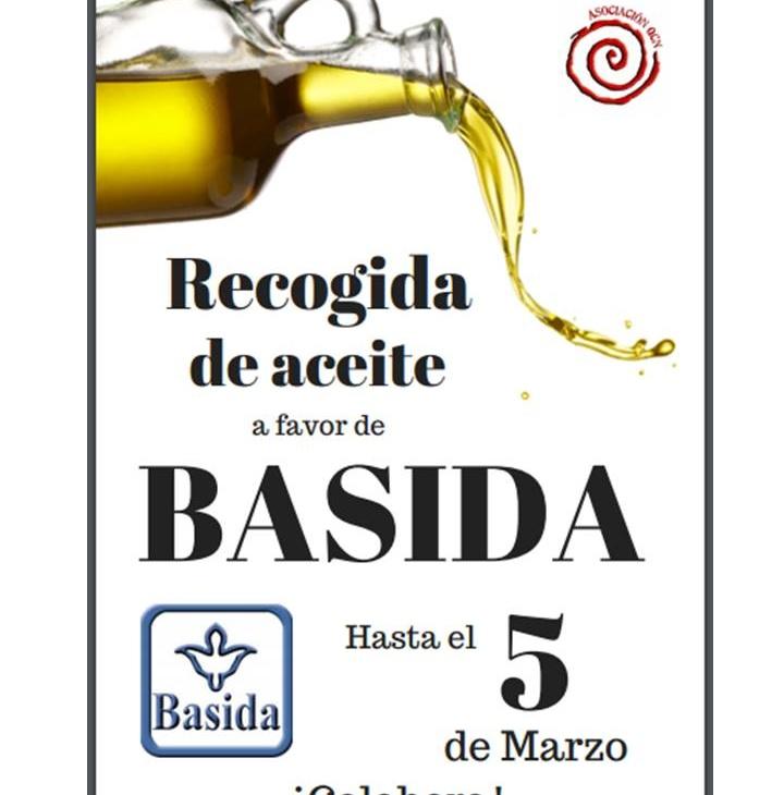 CAMPAÑA DE RECOGIDA DE ACEITE PARA BASIDA