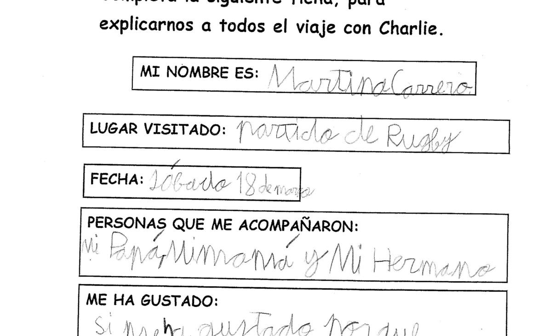 CHARLIE DESCUBRE EL RUGBY