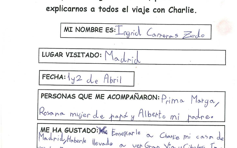 CHARLIE TRAVELLER DE VISITA EN LA CAPITAL
