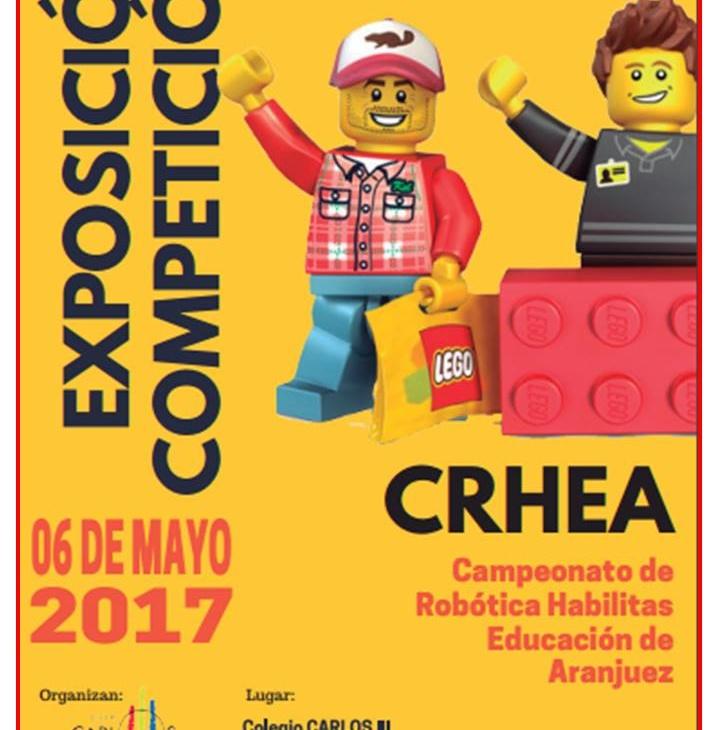 CRHEA: Campeonato de Robótica Habilitas Educación de Aranjuez